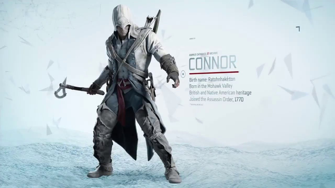 Assassin S Creed Iii Assassin S Creed Iii Connor S Tools Trailer