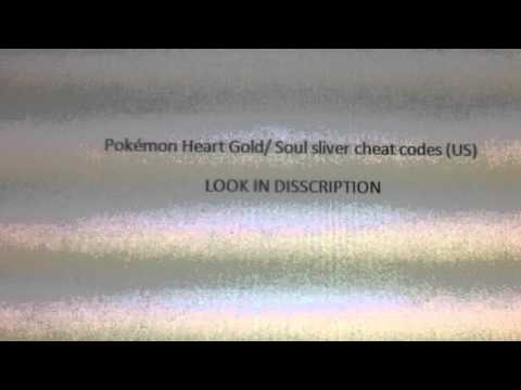 Pokemon Heart Gold/Soul Sliver Cheat Codes LOOk IN DISCRIPT