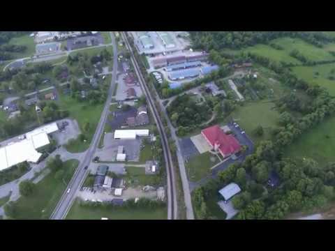 DJI Phantom 3 Flight over Crestwood, Ky. Awesome Sunset