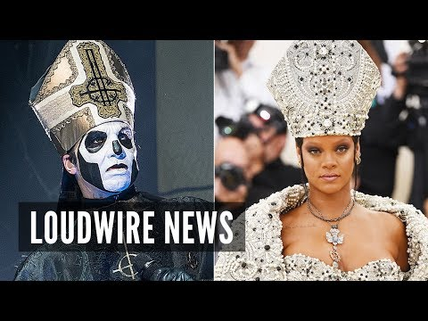 Ghost React to Rihanna's Pope Outfit