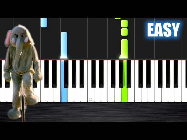 Coldplay Paradise Easy Piano Tutorial By Plutax Synthesia
