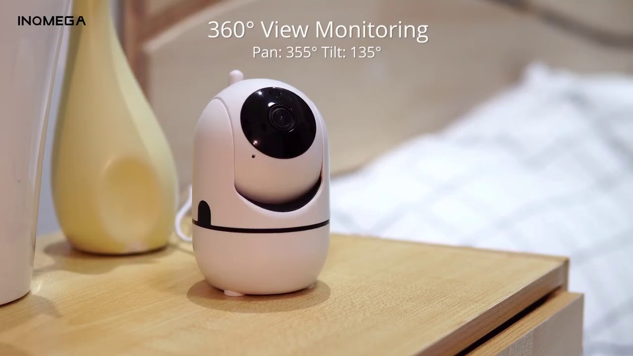 Облачная поворотная Wi-Fi камера INQMEGA (1080p) с функцией слежения за объектом