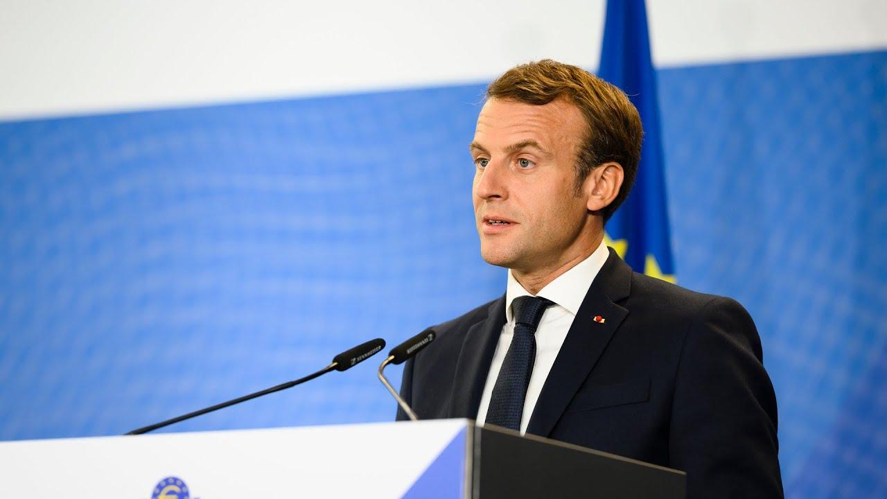 Speech By Emmanuel Macron President Of France Fr Youtube