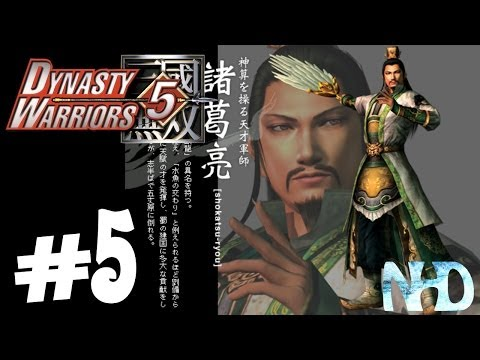 Let's Play Dynasty Warriors 5 Zhuge Liang (pt5) Battle of Wu Zhang Plains