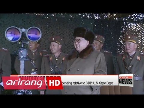 N. Korea Ranks No. 1 For Military Spending Relative To GDP: U.S. State Dept.