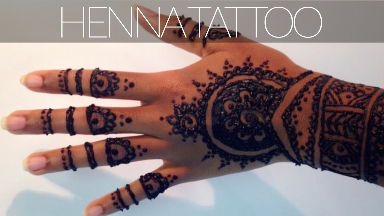 Henna Tattoo: Plus Tips & Tricks For A Dark