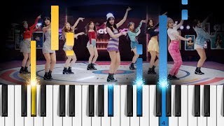 Download Lagu TWICE - What is Love? - Piano Tutorial / Piano Cover Mp3
