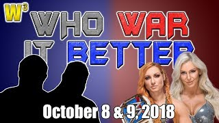 A Rare Double-Turn? Becky and Charlotte Tear the House Down! | Who War It Better