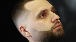 Мастер класс по оформлению бороды  (  плавный переход на бороде  и формирование границ бороды)