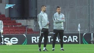 «Зенит-ТВ»: открытая тренировка перед матчем с «Копенгагеном»