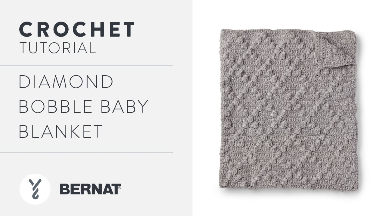Crochet Lattice Baby Blanket + Tutorial | The Crochet Crowd