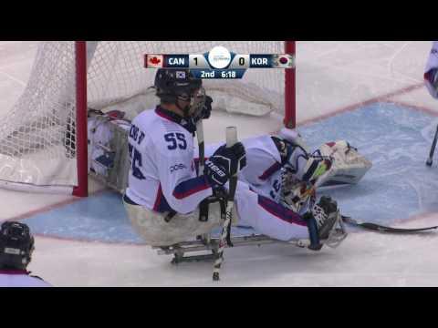 HIGHLIGHTS: Canada v South Korea | 2017 World Para Ice Hockey Championships