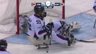 HIGHLIGHTS: Canada v South Korea   2017 World Para Ice Hockey Championships