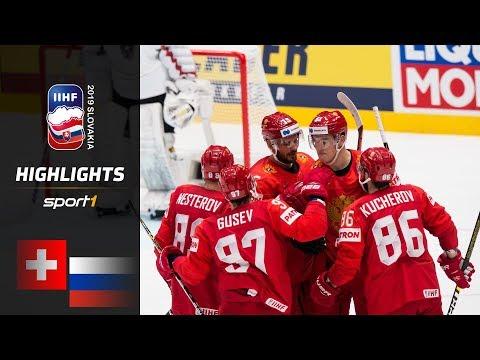 Russland Bleibt Ungeschlagen: Schweiz – Russland 0:3 | Highlights | IIHF Eishockey-WM 2019 | SPORT1