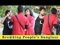 Bre@king Peoples Sunglass Prank || Prank In India 2019 || Funday Pranks
