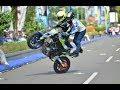 WAWAN TEMBONG dan ADIKNYA Wahyu Nugroho - Talented Little Kid Doing Extreme Stunts on Motorcycle