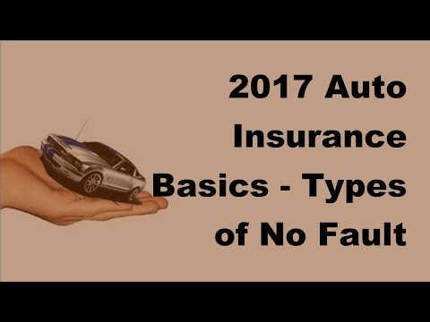2017 Auto Insurance Basics  |  Types of No Fault Auto Insurance