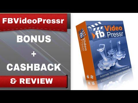 [FBVideoPressr Bonus] FBVideoPressr Bonus Review and Cashback Discount - Review - Part 1