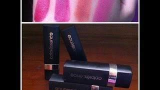 Coloressence lipstick review (Affordable Indian Drustore Products)