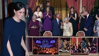 Video The Queen celebrated her 92nd birthday warmly with her family at Royal Albert Hall download MP3, 3GP, MP4, WEBM, AVI, FLV April 2018