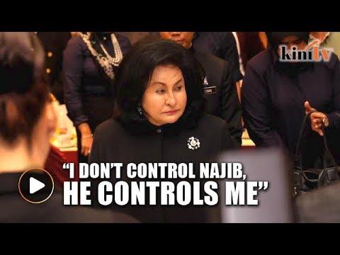 Rosmah: I don't control Najib, he controls me