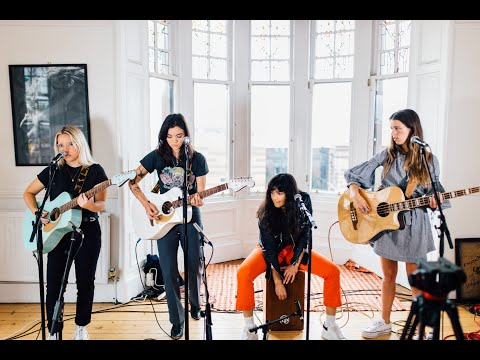 The Aces - 'Volcanic Love', 'Last One' & 'Stuck' | TENEMENT TV
