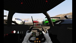 Racing Onboard Mazda LM55 GT Vision vs Racing Cars at Black Cat Country