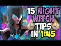 15 QUICK Tips About: Night Witch🦇