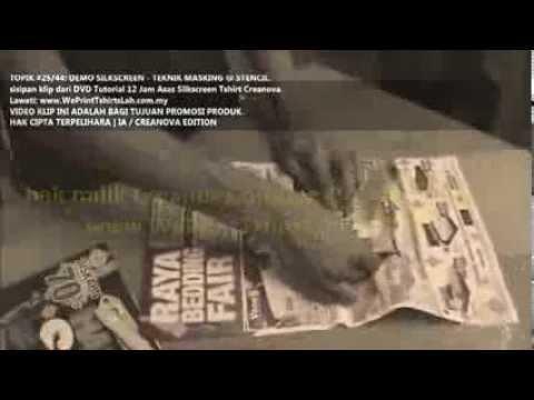 trailer-6:-topik-teknik-stensil--asas-cetak-silkscreen-baju-tshirt-video-lengkap-12-jam-creanova