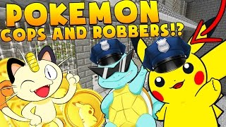 Video POKEMON MODDED COPS AND ROBBERS HIDE AND SEEK MOD - Minecraft Mod (FUNNY MOMENTS) download MP3, 3GP, MP4, WEBM, AVI, FLV November 2017