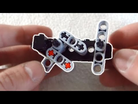 Lego Compact Semi Auto Gun Mechanism Instructions Youtube