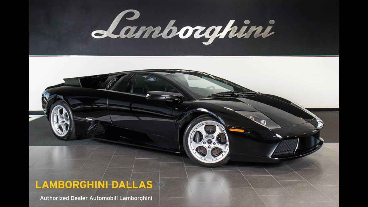 2003 Lamborghini Murcielago Nero Aldebaran Lt0729 Youtube