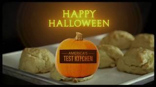 Happy Halloween from Bob Ross (Dan Souza) and America's Test Kitchen