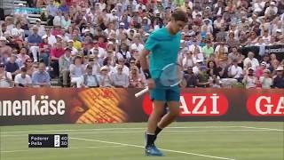 Top 5 Roger Federer Great Shots in Pella Win | MercedesCup Stuttgart 2018