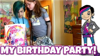 My Birthday Party with MommyandGracieShow, Dollastic and Chad Alan - My Little Pony Goodness!