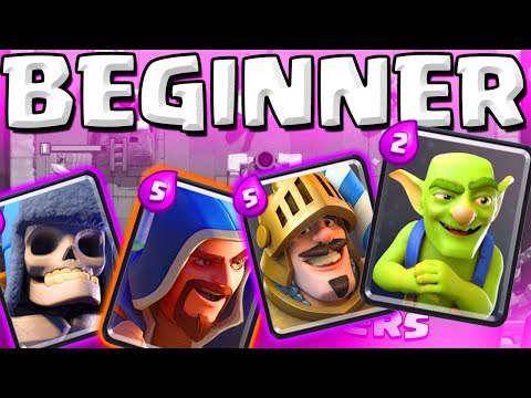 LOWER LEVEL STRATEGY  ::  Clash Royale  ::  LVL 6 GAMEPLAY!