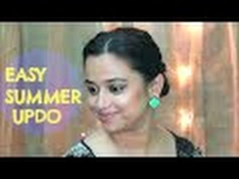 Easiest Summer Hairstyle Indian Beauty Guru Priyanka Fast Youtube