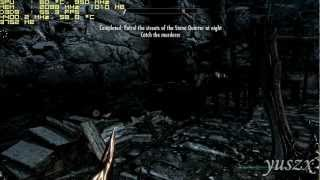 Skyrim - Blood on the Ice - Patrol the streets of the Stone Quarter at night