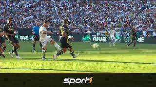 Bale-Hammer trifft Ronaldos neue Liebe ins Herz - Real Madrid vs. Juventus beim ICC   SPORT1