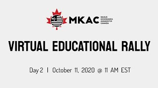 Day 2 | National Virtual Educational Rally 2020 | Majlis Khuddamul Ahmadiyya Canada