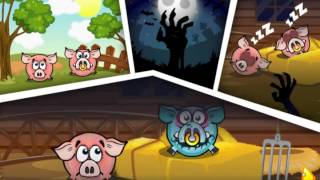 Piggy Wiggy 4: Zombie Edition -- Walkthrough