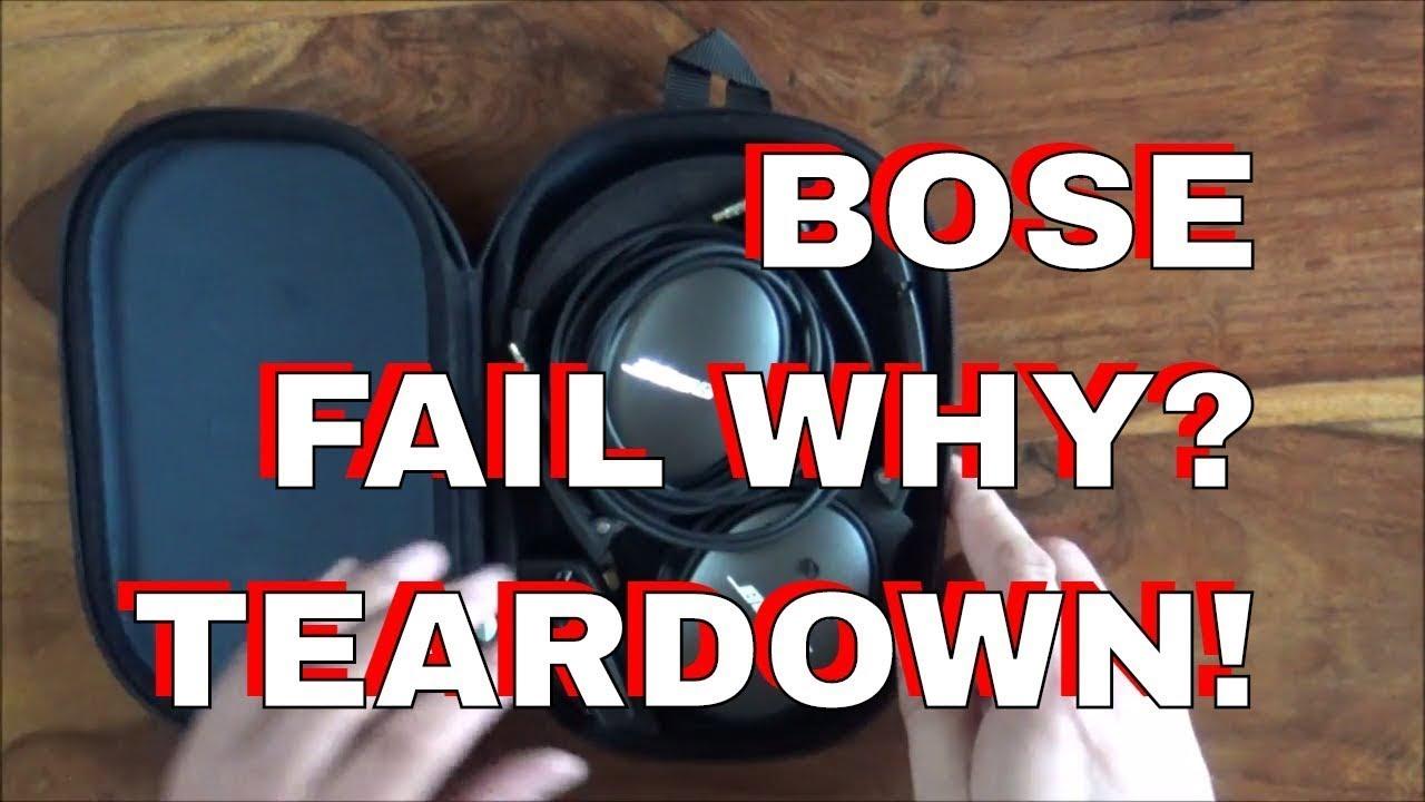 01eeab89a96 BOSE QC25 Headphones - Teardown - Breakdown. Dubious Engineering