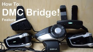 Cardo PACKTALK SLIM - DMC Bridge Feature!