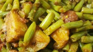Testy Barbati ki sabji nutrition se bharpur healthy lobia beans Cholai Ki Sabji