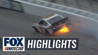 Dale Earnhardt Jr. Hard Crash - Texas - 2014 NASCAR Sprint Cup
