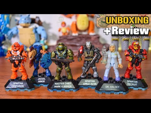 Heroes Series 8 | Unboxing & Review | Halo Mega Construx