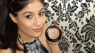 How To: Mac Mineralise Skinfinish - Soft & Gentle Demo/Tutorial