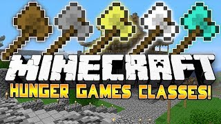 THROWING AXES?! - Minecraft: Hunger Games CLASSES! w/Preston & Woofless!