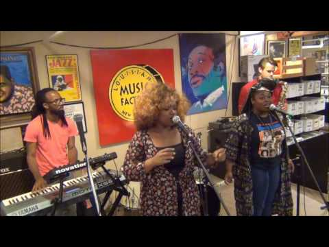 Tank and The Bangas @ Louisiana Music Factory 2015 - Record Store Day PT1
