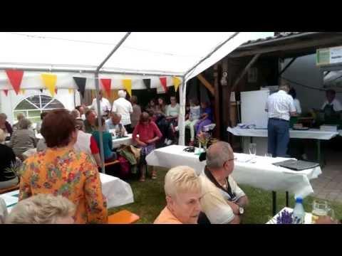 Obst- und Gartenbauverein Aura - Gartenfest 2014 - Mitgliederehrung